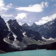 Moraine Lake, Banff National Park, Alberta, Canada, 2004, Chromogenic Print, 20 x 24 Inches,edition of 10