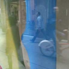 Window Reflection Near Las Ramblas, Barcelona, Spain, 2009, Chromogenic Print, 20 x 24 inches, edition of 10