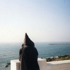 Hooded Man, Larache, From the Morocco Project, 1998, Chromagenic Print, 20 x 24 inches, edition of 10