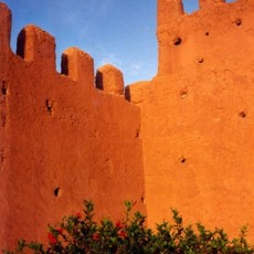 Orange Wall, Tiznit, From the Morocco Project, 1994, Chromagenic Print, 20 x 24 inches, edition of 10