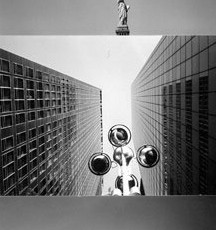 Totem 27 (Liberty), 2007, Selenium-toned Gelatin Silver Print triptych, edition of 5, 26 x 54 inches framed, edition of 5