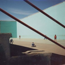 Ball Court, From The Visitor, Walking 1000 Miles Through Mexico's Cities, 1989, Chromagenic Print, 20 x 24 inches, edition of 10.
