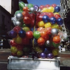 Balloons, From The Visitor, Walking 1000 Miles Through Mexico's Cities, 2010, Inkjet Print on Hahnemule Fine Art Paper, 20 x 24 inches, edition of 10