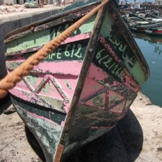 Boat 612, El Jadida, From the Morocco Project, 2011, Inkjet Print on Hahnemule Fine Art Paper, 20 x 24 inches, edition of 10