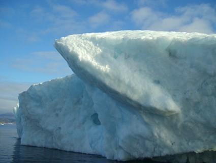 Triangular Iceberg, Greenland (Kalaallit Nunaat), 2006, Chromogenic Print, 20 x 24 inches, edition of 10